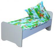 Ліжко дитяче з заокругленими бильцями, без матрацу
