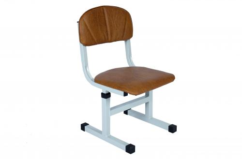 Children chair T-shaped,  on a square tube, adjustable, height groups №1-3
